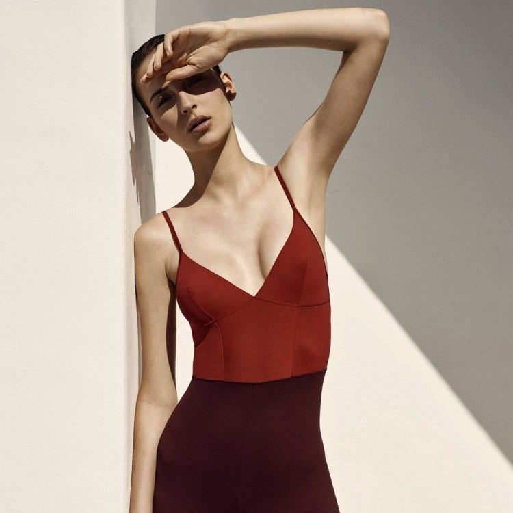 Ilona Bodysuit Red