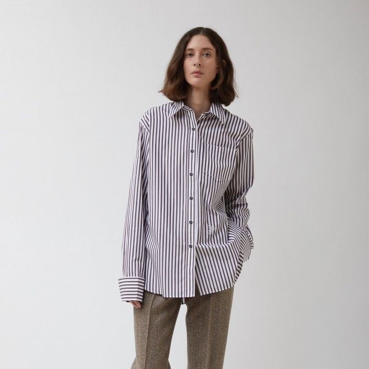 Classic Striped Pocket Shirt