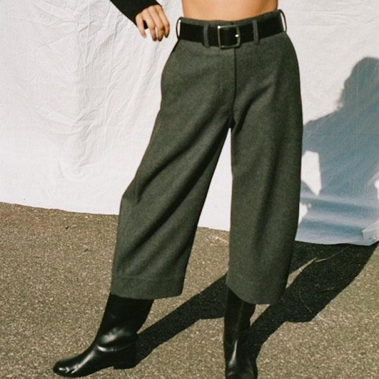 CROPPED CHINO PANTS