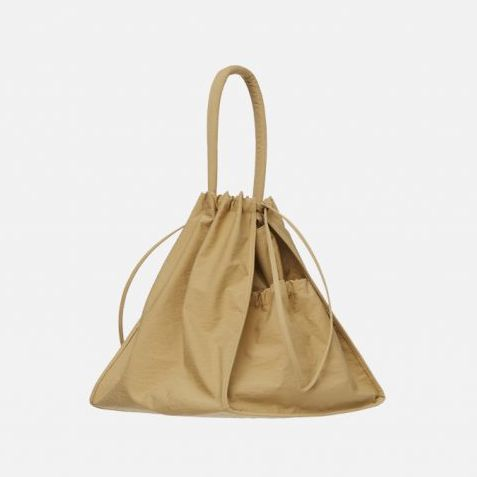 Scrunch Bag Khaki