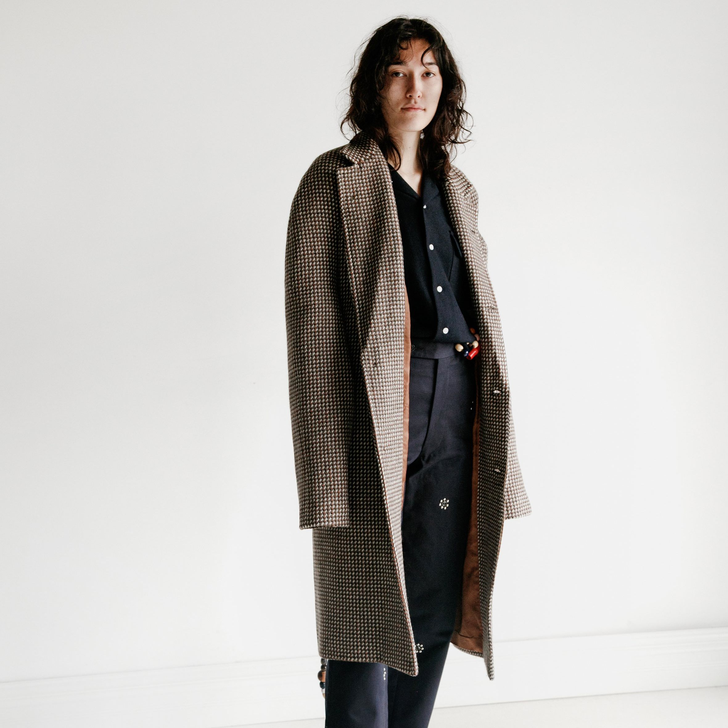 Brick Wool Work Coat